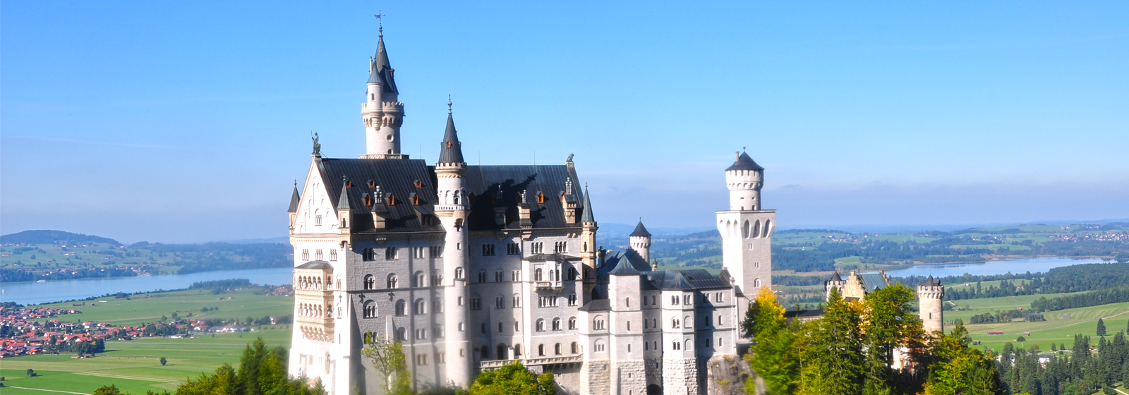 Neuschwanstein Castle Tour during Oktoberfest