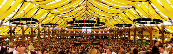 Click on the Picture above to go to the Official Winzerer Fähndl Page & Oktoberfest Tents - Beer Tent Information