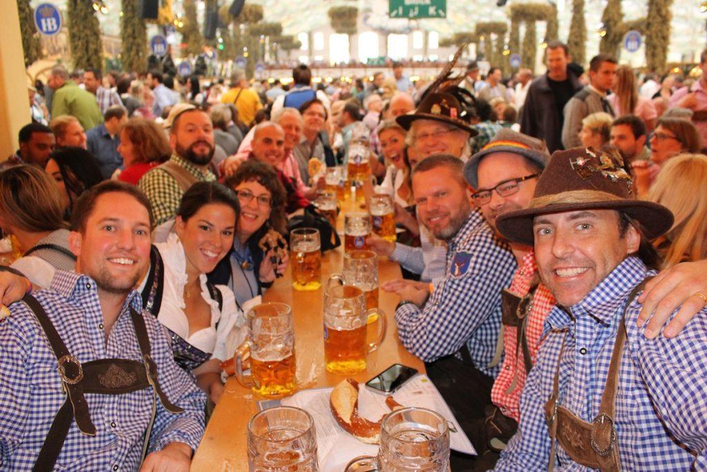 Hofbrau Oktoberfest Beer Tent