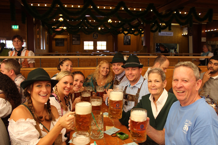 Included Oktoberfest Packages