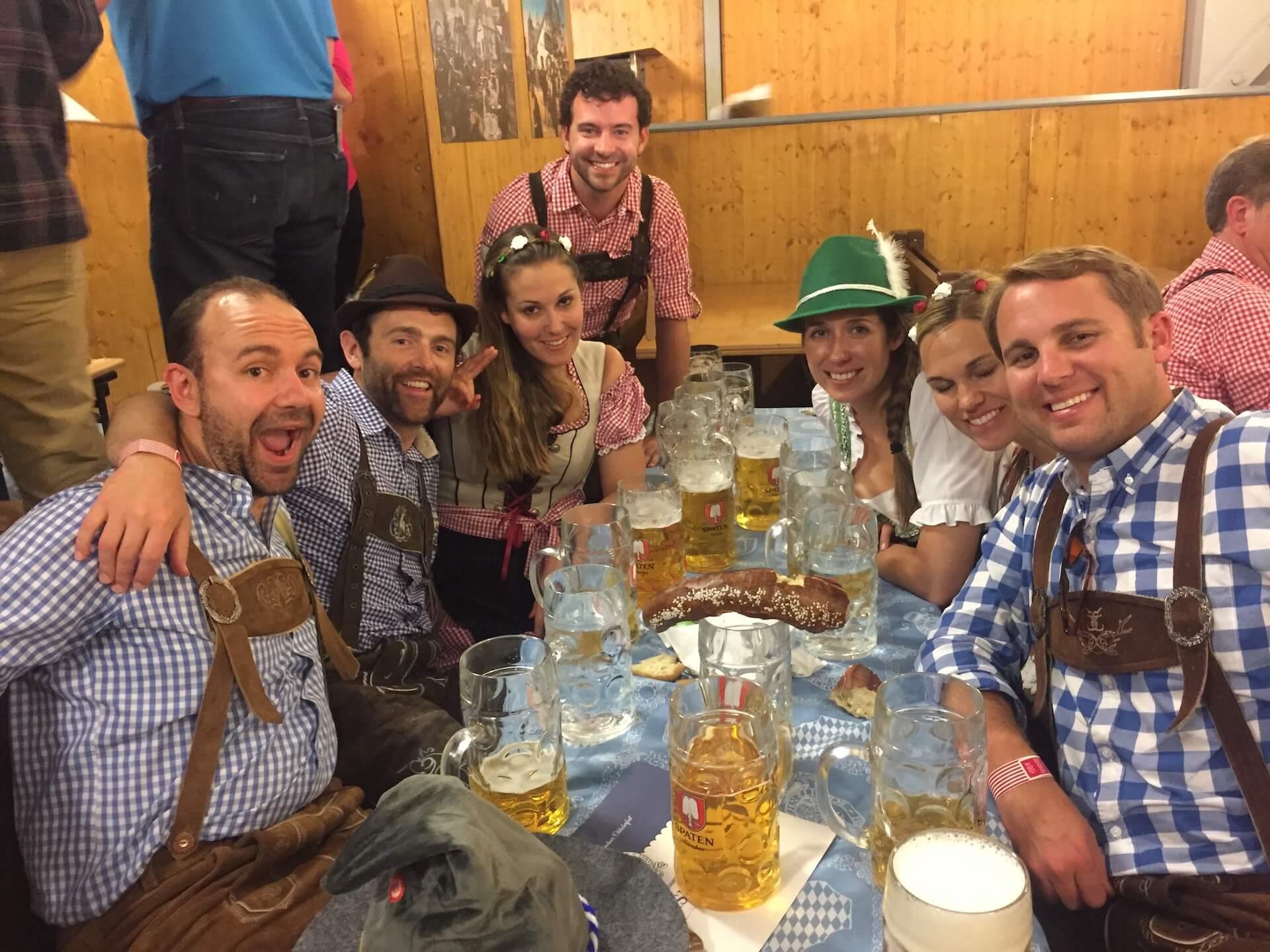 Oktoberfest Beer Tent - Schottenhamel