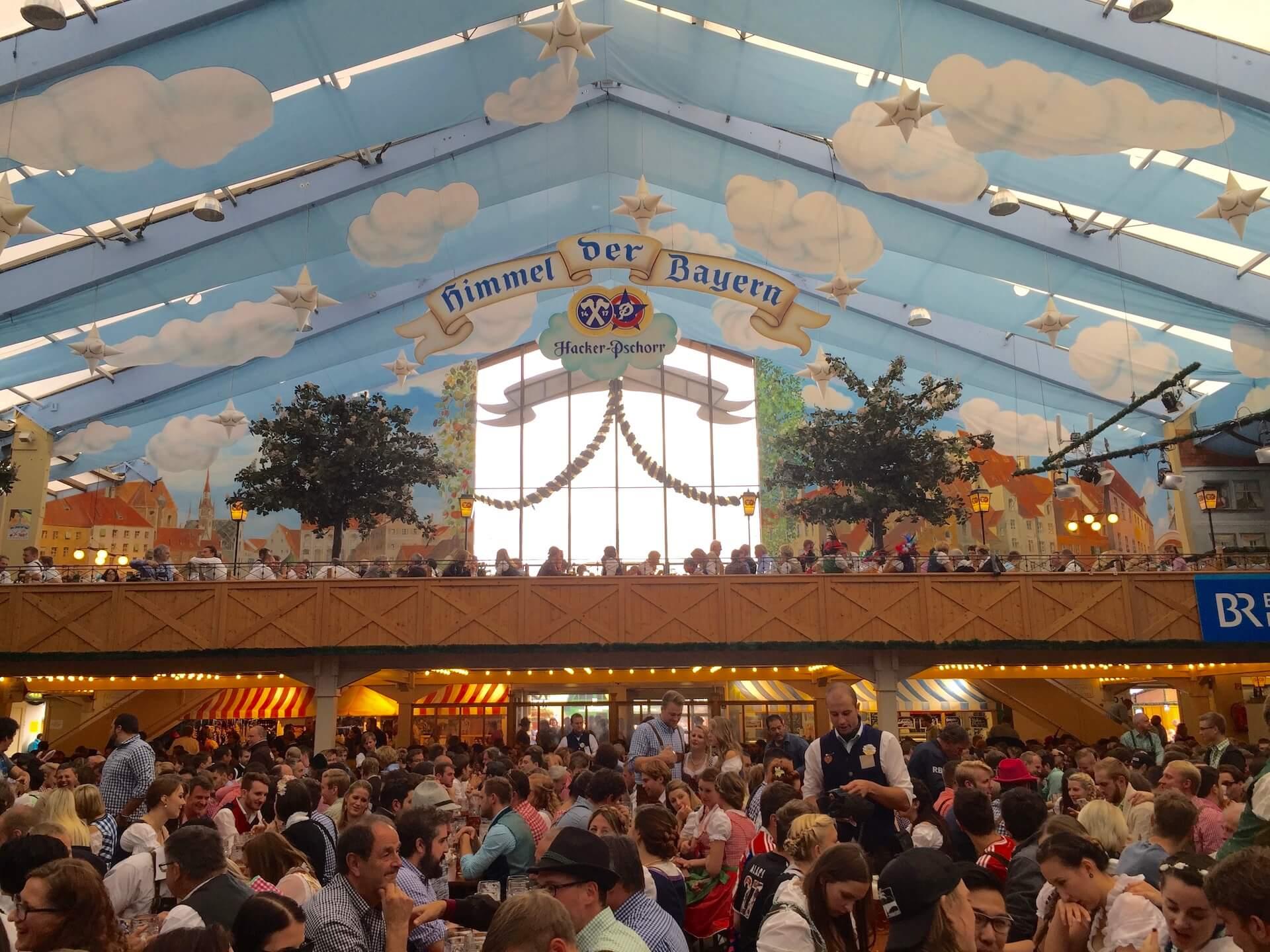 Oktoberfest Beer Tent - Hacker