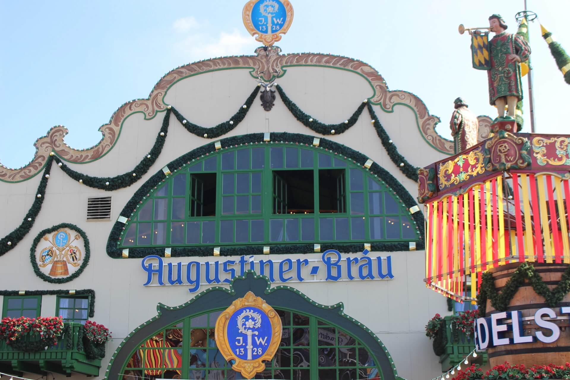 Oktoberfest Beer Tent - Augustiner