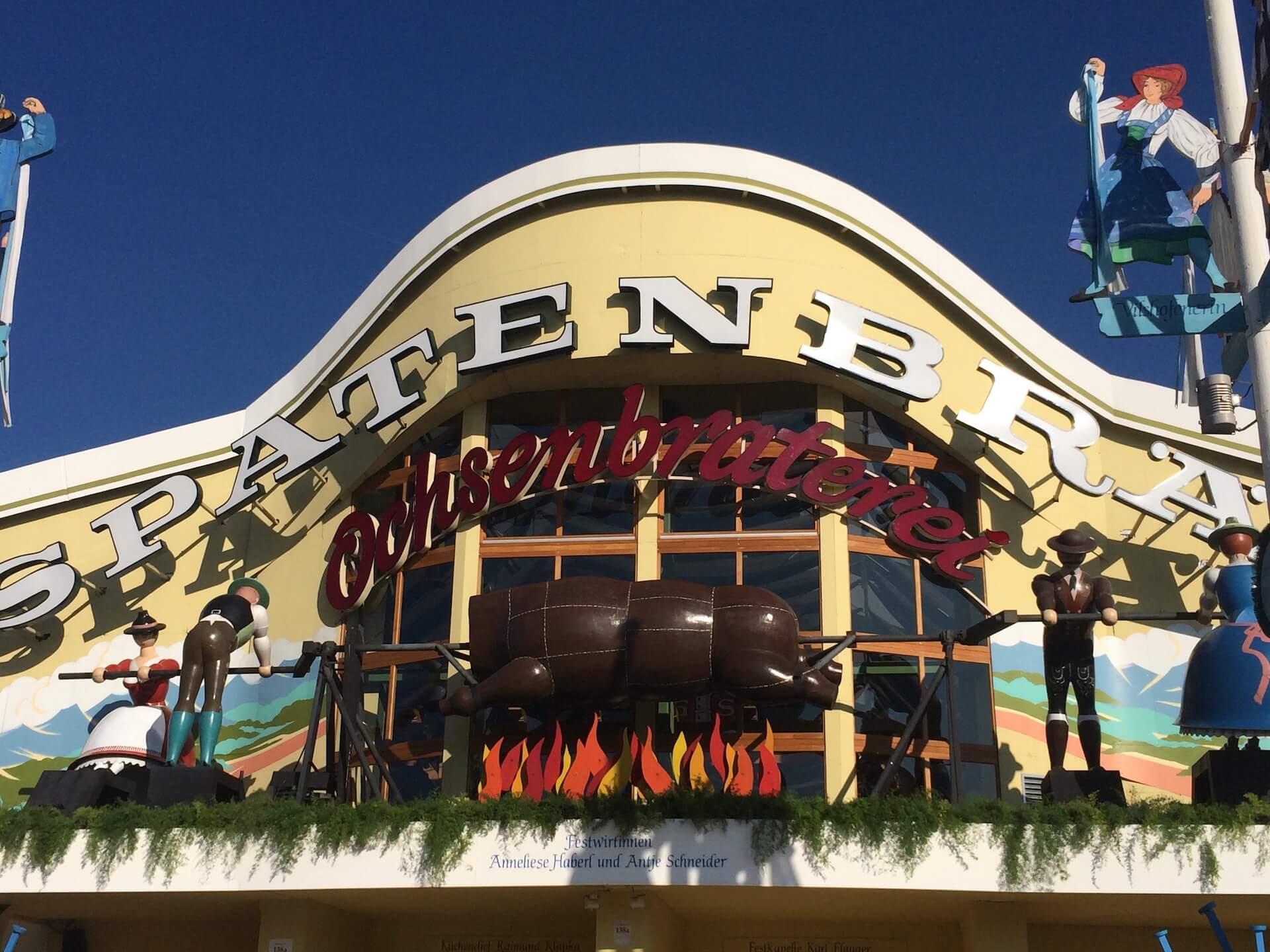 Oktoberfest Beer Tent - Oschenbraterie