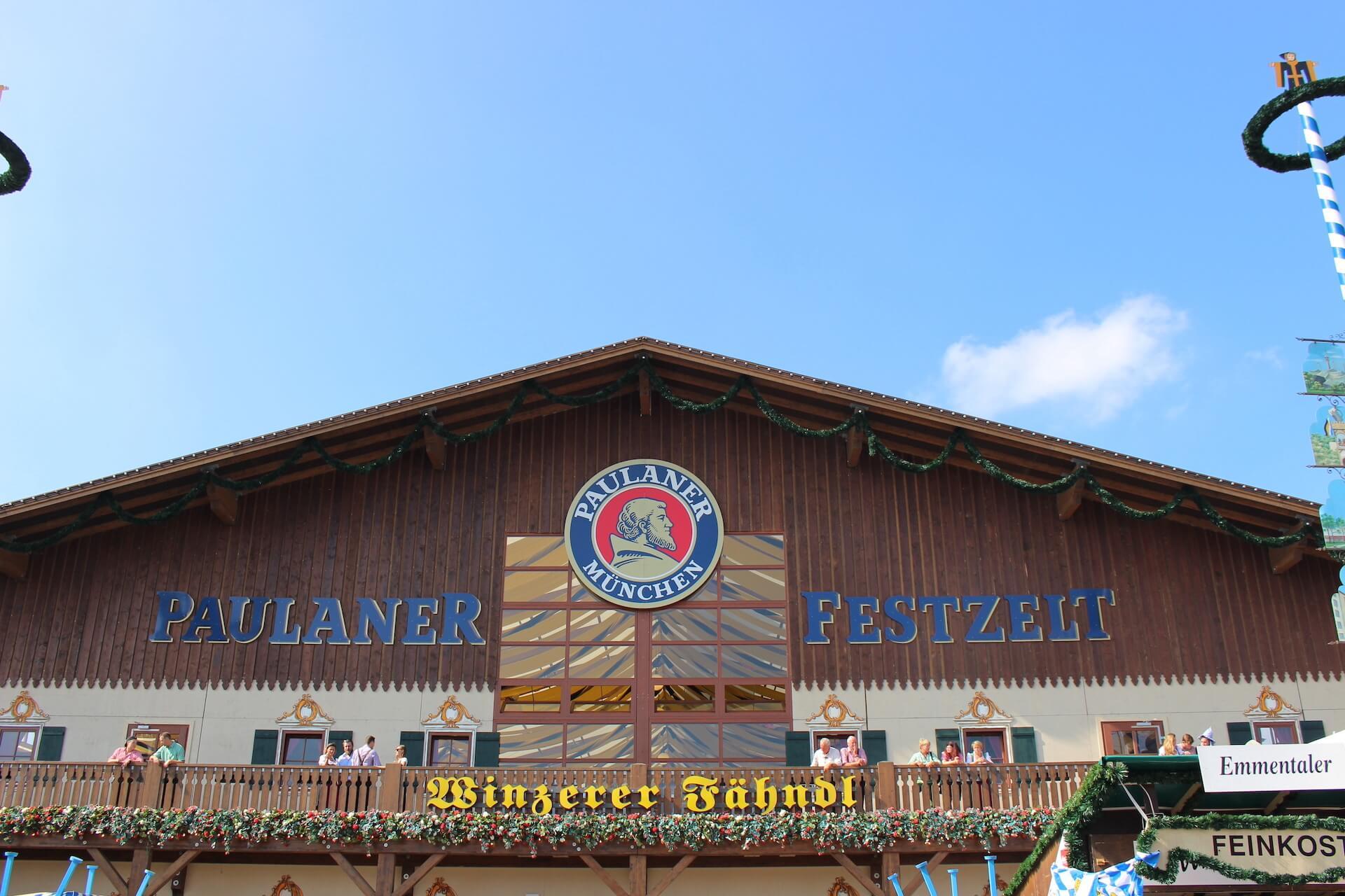 Oktoberfest Beer Tent - Paulaner