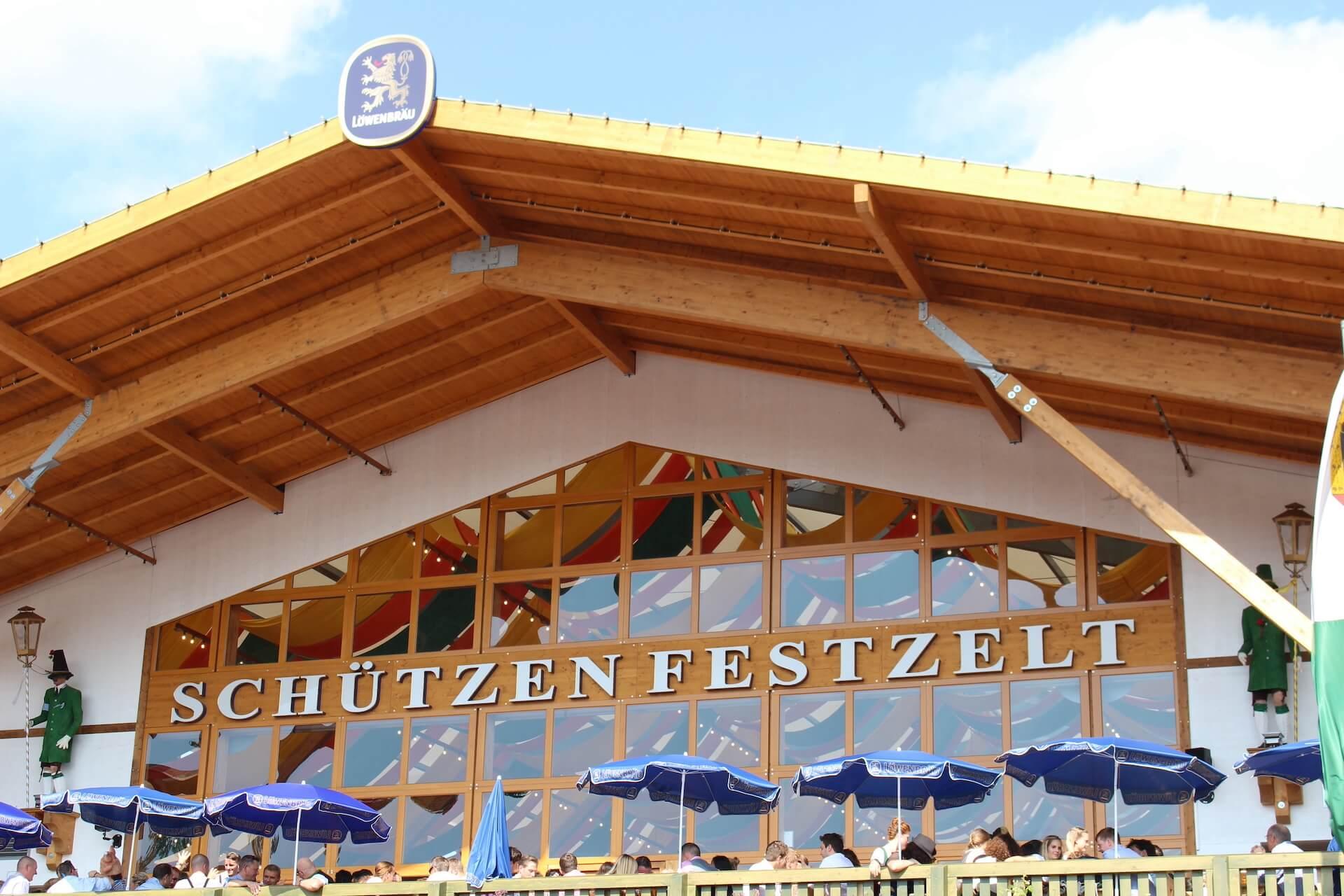 Oktoberfest Beer Tent - Schutzen